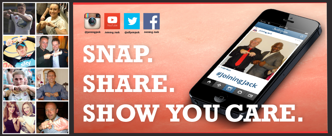 Snap, share, show you care