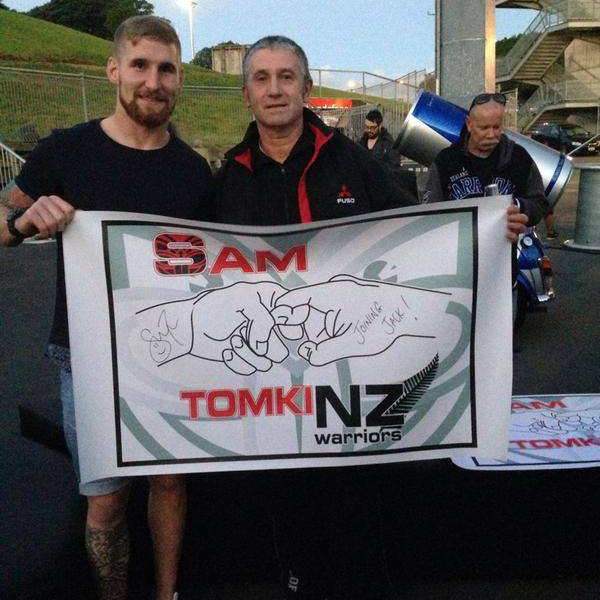 NZ Warriors Support